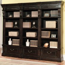 Palazzo 3 piece Museum Bookcase Set (9030 and 2-9031)