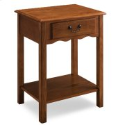Shaker Night Stand with Drawer #9067-MED Product Image