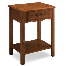 Shaker Night Stand with Drawer #9067-MED