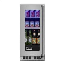 "15"" Beverage Center, Left Hinge/Right Handle"
