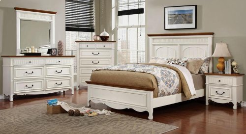 California King-Size Galesburg Bed
