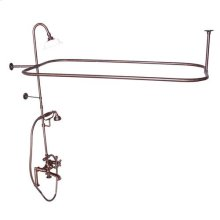 Code Rectangular Shower Unit - Cross / Oil Rubbed Bronze
