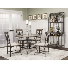 Manta 5 Piece Dining Room Set: Table & 4 Chairs