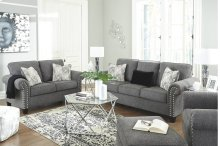 787013   Sofa and Loveseat - Agleno Charcoal