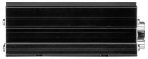 "Chaos Epic 100W 2 Channel Full Range, Class A/B Amplifier Dimensions 4""L 3.13""W 1.83""H"