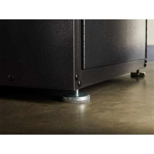 Gladiator® Ready-to-Assemble Full-Door Modular GearBox - Smooth Hammered Granite