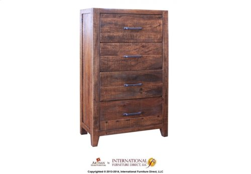 1 Drawer & 2 Doors Nightstand