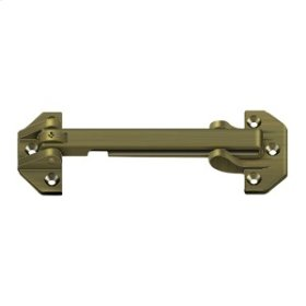 """6 3/4"""" Door Guard - Antique Brass"""