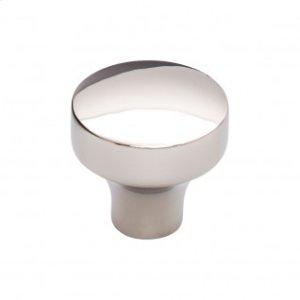Kinney Knob 1 1/4 Inch - Polished Nickel