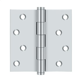 "4""x 4"" Square Hinges Residential / Zig-Zag - Polished Chrome"