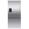 "Fisher & Paykel Freestanding Refrigerator Freezer, 32"", 17.5 Cu Ft, Ice & Water"