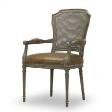 Chelsea Arm Chair - Chaps Saddle