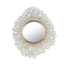 "White Coral Mirror 17"""