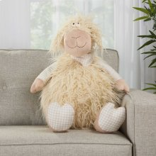 "Plushlines N1563 Ivory 1'10"" X 2'2"" Plush Animals"