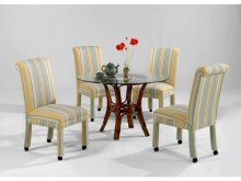 Parson Side Chair with Casters