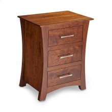 Loft Nightstand with Drawers
