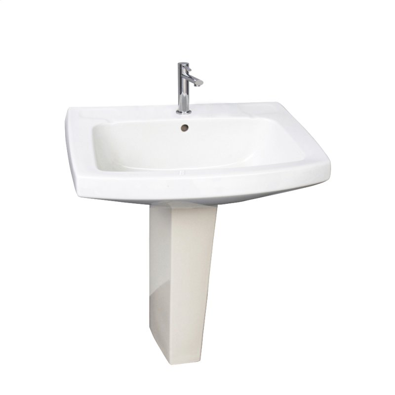 Barclay Hartford Pedestal Sink.3978wh In White By Barclay In Jacksonville Fl Galaxy 28 Pedestal
