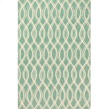 Turquoise / Ivory Rug