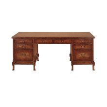 Carved Leg Desk