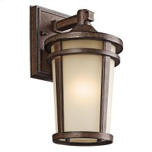 Atwood Collection 1 Light Atwood Outdoor Wall Lantern in BST