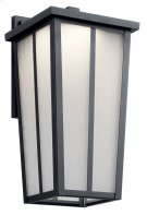 """Amber Valley 15"""" LED Wall Light Textured Black Product Image"""