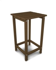 """Teak 26"""" Counter Side Table Product Image"""