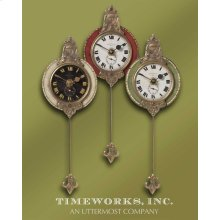 Monarch Wall Clocks, S/3