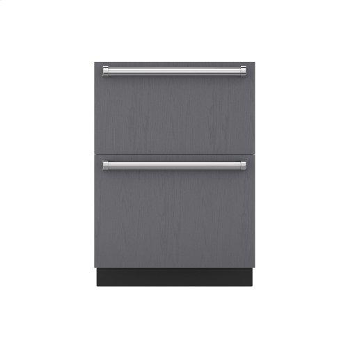 "24"" Refrigerator Drawers - Panel Ready"