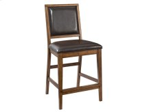 Santa Clara Upholstered Back Counter Stool