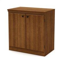 Small 2-Door Storage Cabinet - Morgan Cherry