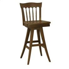 Model 912 Swivel Bar Stool Wood Seat