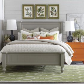 Cal King Wakefield Colors Panel Bed