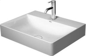 Durasquare Furniture Washbasin Ground 3 Faucet Holes Punched