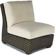 Leeward Armless Lounge Chair