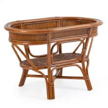 Oval Rattan Dining Table Base 3546