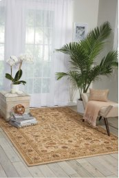 Lumiere Ki600 Beige Rectangle Rug 7'9'' X 10'10''