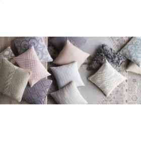 """Adelia ADI-003 20"""" x 20"""" Pillow Shell with Polyester Insert"""