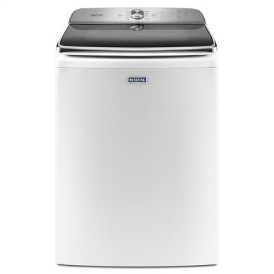 """Maytag® Top Load Washer with the PowerWash® System """" 6.2 cu. ft. - White Product Image"""