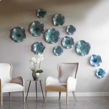Abella Ceramic Wall Decor, S/3