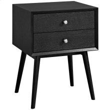 Dispatch Nightstand in Black
