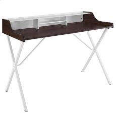 Bin Office Desk in Cherry Product Image