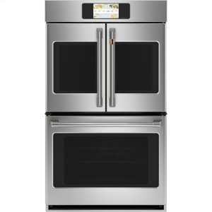 "GEProfessional Series 30"" Smart Built-In Convection French-Door Double Wall Oven"