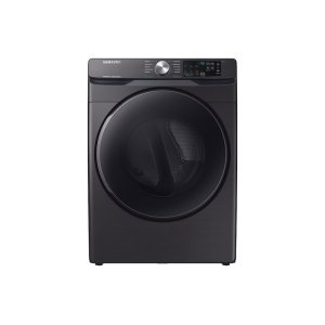 Samsung7.5 cu. ft. Gas Dryer with Steam Sanitize+ in Black Stainless Steel