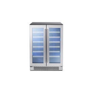 "Zephyr24"" Dual Zone French Door Wine Cooler"