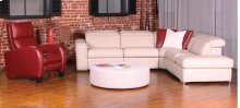 Monaco Swivel and rocking motion chair (043; Wood base - Tea T37)