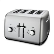 4-Slice Toaster with Manual High-Lift Lever - Contour Silver Product Image