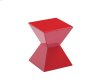 Rocco End Table - Red