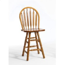 Dining - Classic Oak Plain Arrow Counter Stool