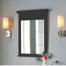 """Framingham 24"""" Mirror - Obsidian"""