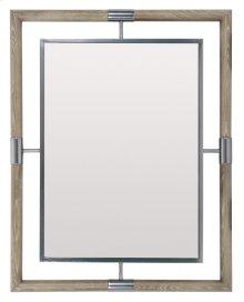 Mosaic Mirror in Dark Taupe (373)
